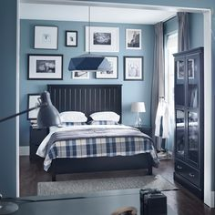 A comfortable bed and a soothing colour scheme means the end of restless nights.Featured Products UNDREDAL KUSTRUTA JOXTORP (Source: everyday.ikea.com)