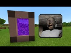 How To Make a PORTAL to the GRANNY HOUSE Dimension in Minecraft PE (Granny Horror Portal in MCPE) - YouTube