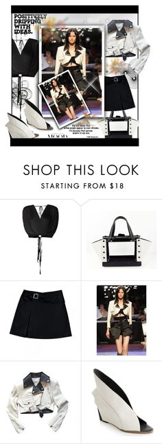 """""""The Mood~"""" by rj-cupcake ❤ liked on Polyvore featuring Tome, Nadia Gabriella, Jean-Paul Gaultier and Abcense"""