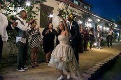 Sparklers & shouts of congratulations to send us off into Honeymoon Bliss!  Photo from MIA & DORELL WEDDING collection by Scott Clark Photo Inc.