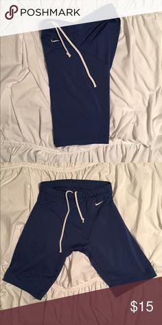 Nike compression shorts. Medium. Nike compression shorts, always a good idea to have in any training program. Nike Shorts Athletic