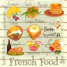 French Food Menu