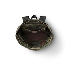 Small Pack in Otter Green by Filson.