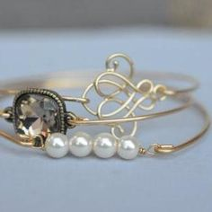 Elegance Bangle Bracelet Set