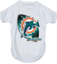 Hunter MFG Miami Dolphins Performance T-Shirt, X-Large *** See this great image  : Dog shirts