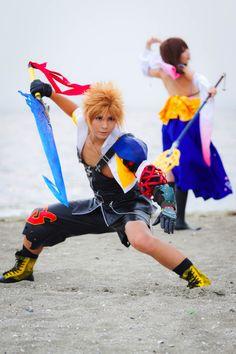 Tidus & Yuna | Final Fantasy X #cosplay #game #anime