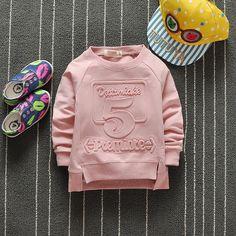 2017 new baby sweatershirts cotton baby shirts children clothing - Kid Shop Global - Kids & Baby Shop Online - baby & kids clothing, toys for baby & kid Baby Jeans, Girls Jeans, Kids Clothes Boys, Children Clothing, Children Wear, Kids Fashion Boy, Toddler Fashion, Kids Clothing Brands List, Kids Sportswear