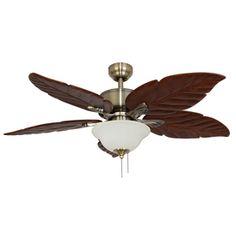 Harbor Breeze Waveport 52 In Bronze Outdoor Downrod Mount Ceiling Fan With Light Kit Yard