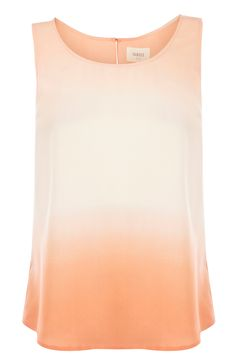 Oberteile  Blusen   Multi Tauchgefärbtes Tanktop   Damenmode   Oasis