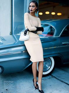 Can't get enough of Kai Z Feng.  Here he shoots Joan Smalls for Aussie Vogue.