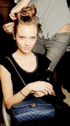 Fashion Model Monika Jagaciak, Style inspiration, Fashion photography, Long hair