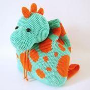 Hippo Backpack crochet pattern - Allcrochetpatterns.net