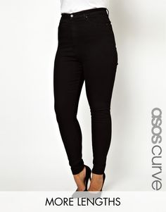 ASOS+CURVE+Skinny+Jean+With+Ultra+High+Waist