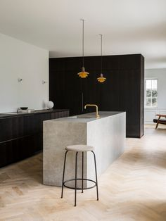 Kitchen | Copenhagen Apartment by Norm Architects | est living