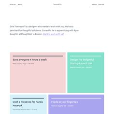 Fonts Used: Nitti Grotesk and Avenir · Typewolf Typography Inspiration Website Design Layout, Web Design Tips, Web Layout, App Design, Layout Design, Minimal Web Design, Graphic Design, Interface Web, Interface Design