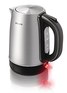 Philips Kettle HD9321/20 1.7 LT 2200 W Brushed Metal The robust metal electric kettle HD9321 has a flat heating element that gives you boiling water in seconds and is easy to clean. Thanks to its spring lid mechanism, the l (Barcode EAN = 8710103646549) http://www.comparestoreprices.co.uk/december-2016-6/philips-kettle-hd9321-20-1-7-lt-2200-w-brushed-metal.asp