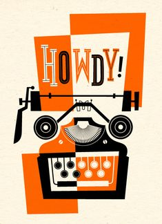 Howdy by Esther Aarts Illustration