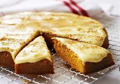 Morotskaka med saffran - Recept | Arla Apple Pie, Eat, Wonderful Time, Desserts, Drink, Food, Tailgate Desserts, Deserts, Beverage