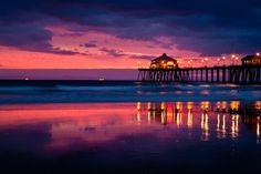 Huntington BeachPier, Huntington Beach, California