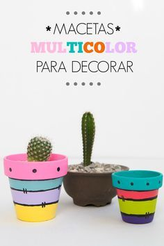 Idea Of Making Plant Pots At Home // Flower Pots From Cement Marbles // Home Decoration Ideas – Top Soop Painted Plant Pots, Painted Flower Pots, Flower Pot Crafts, Clay Pot Crafts, Deco Cactus, Pottery Painting Designs, Decorated Flower Pots, Cement Pots, Terracotta Pots