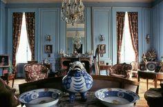 #salon #bleu #chateau #thionville #france