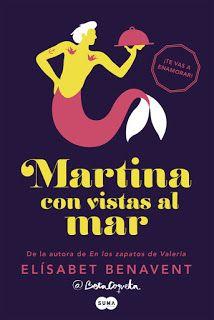 La Orilla de los Libros: Martina con vistas al mar. Elísabet Benavent