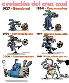 Entre 1968 y 1979 el Cruz Azul ganó siete de sus 8 títulos de liga, estableciendo así su época dorada. Con excepción de 1997, el equipo ha pasado más de 70 años de penurias de los 84 que lleva de existencia… ¿Qué le depara en el futuro? ¿Es acaso el fin de su historia?