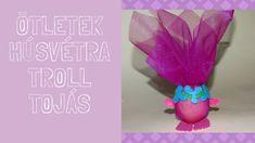 Húsvéti ötlet gyerekeknek. Troll mesefigura készítése tojásból. #troll #... Troll