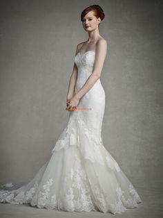 Tengerpart / Távoli helyszín Édesem  Ujjatlan Menyasszonyi ruhák 2015