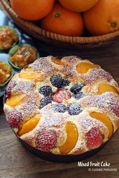 Cuisine Paradise | Singapore Food Blog | Recipes, Reviews And Travel: [CNY Bakes] Mixed Fruit Pastry Cake, Chocolate Beetroot Cupcakes and Honey Joys