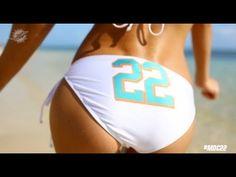 "sports marketing Miami Dolphins Cheerleaders ""22"" by Taylor Swift #Marketero"