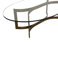 69% OFF - Modern Oval Coffee Table / Tables