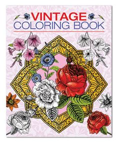 Love this Vintage Coloring Book on #zulily! #zulilyfinds