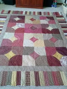 Terry' s 10 Minute Block - (tutorial on MISSOURI QUILT CO site)