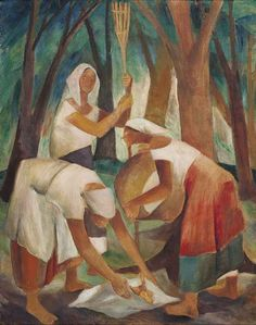 Fruit Vendors is an Oil on Canvas Painting created by Anita Magsaysay-Ho in It lives in a private collection. The image is tagged Women. Artist Painting, Painting & Drawing, Philippine Art, Salvador, Art History, Oil On Canvas, Landscape, Drawings, Artwork