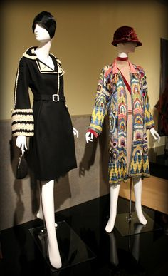 Coats from 1920's, Phoenix Art Museum