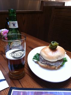 Try an Ole burger & a beer at Yours Truly Restaurants