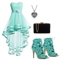 """""""Prom night Outfit"""" by chloejoanvillorente ❤ liked on Polyvore featuring ALDO and MICHAEL Michael Kors"""