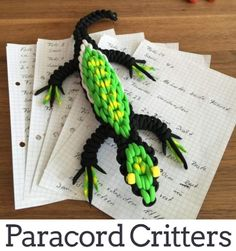 paracordcritters