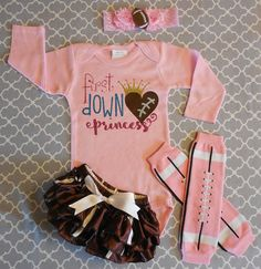 Hey, I found this really awesome Etsy listing at https://www.etsy.com/listing/245621587/girl-football-onesie-girl-sport-onesie