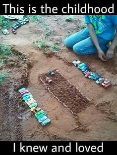 I remember being 14 and still playing in the dirt with my brother. We used the animals too though. So many good memories! My Childhood Memories, Great Memories, Photo Vintage, I Remember When, Ol Days, My Memory, The Good Old Days, Back In The Day, Vintage Toys