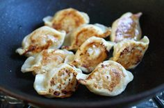Pan-Fried Dumplings recipe