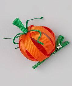 Take a look at this Orange Pumpkin Clip on zulily today!