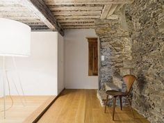 Rehabbed Swiss home by Christian Speck
