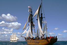 Melbournes Tall Ship Enterprize
