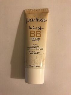 Purlisse Perfect Glow BB Cream MEDIUM TAN .24 oz / 7 ml SPF 30 Sealed EXP 2023  | eBay Nude Makeup, Contouring And Highlighting, Anti Aging, Seal, Bb, Foundation, Glow, Skincare, Medium