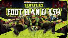 TMNT Foot Clan Clash game online