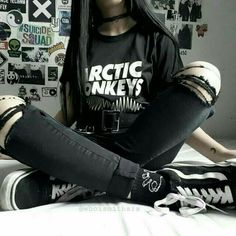 Grunge Look, Style Grunge, Grunge Girl, Edgy Style, Punk Outfits, Mode Outfits, Grunge Outfits, Girl Outfits, Fashion Outfits