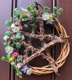 Pentacle, Grapevine Wreath, Grape Vines, Wreaths, Home Decor, Decoration Home, Door Wreaths, Room Decor, Vineyard Vines