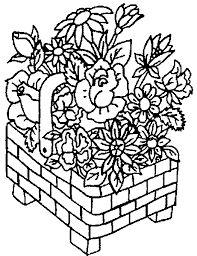 cestas de flores bordado riscos - Pesquisa Google